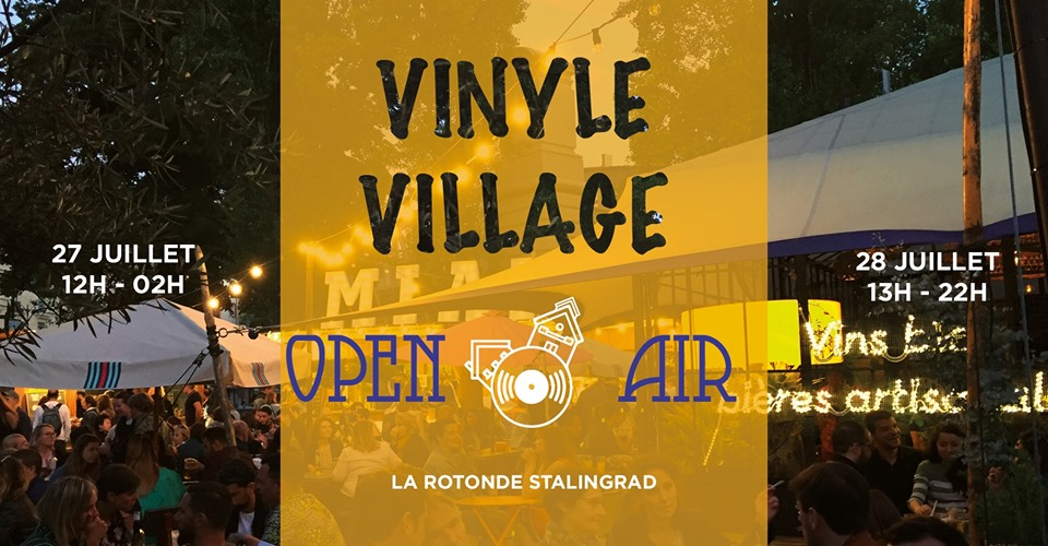 Vinyle Village Open air