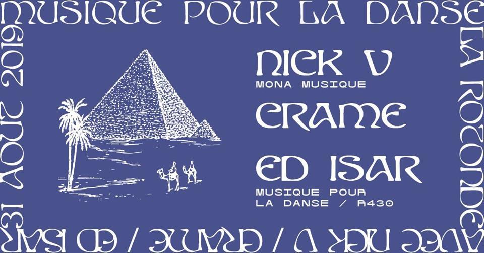 Musique Pour La Danse – Nick V, Crame, Ed Isar