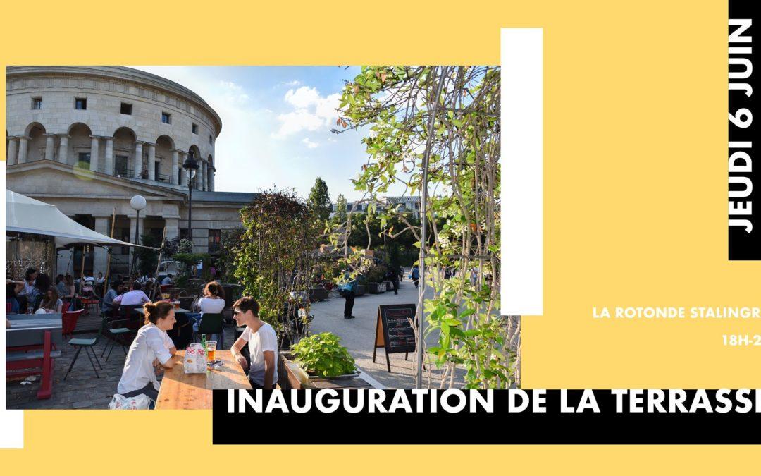 Inauguration de la terrasse