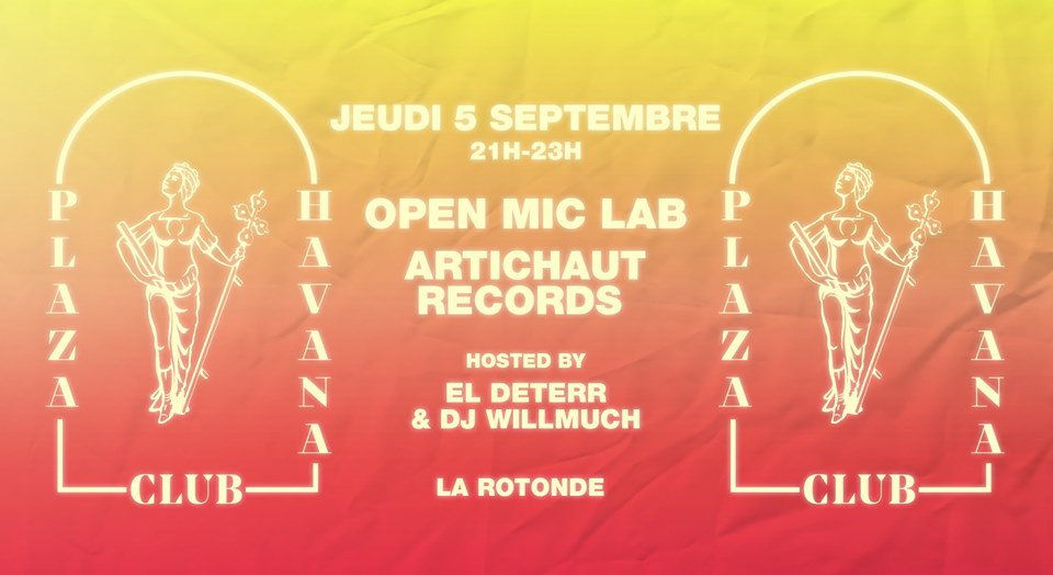 Open-Mic LAB – Plaza Havana Club