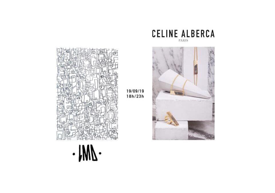 Vernissage LMD x Céline Alberca